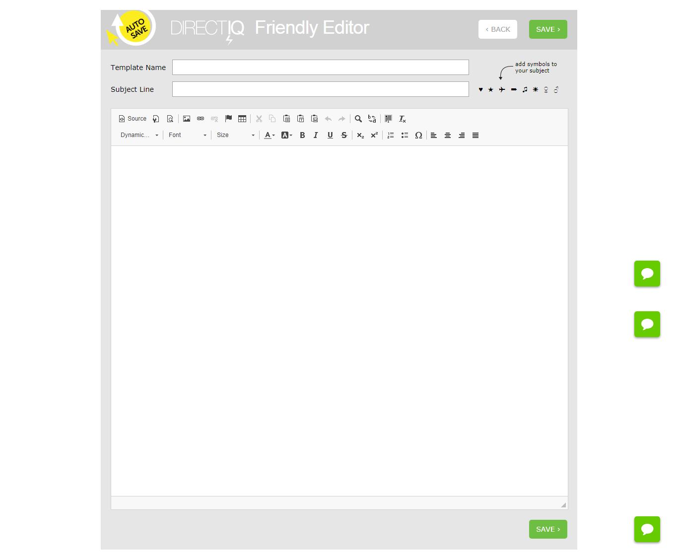 Friendly Editor