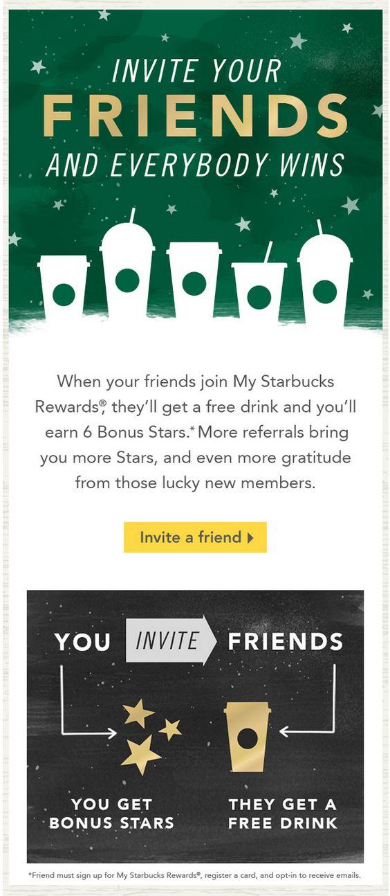 Starbucks referrals
