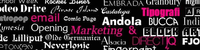 Tipografi Ve Email Dostu Fontlar